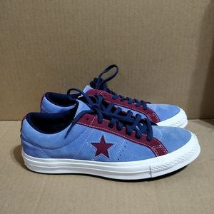 Converse One Star Ox Suede Carnival Shoes NWT
